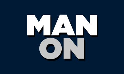 man on logo