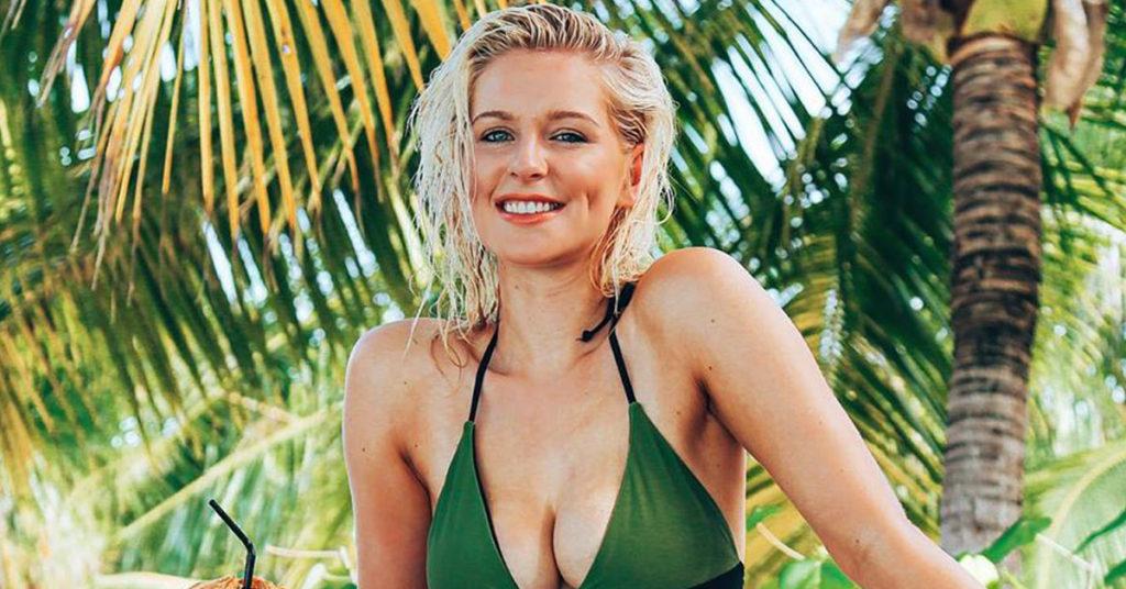 jess davies bikini bora bora