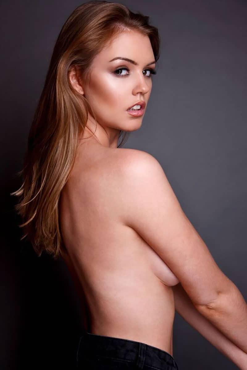 rosie danvers topless side