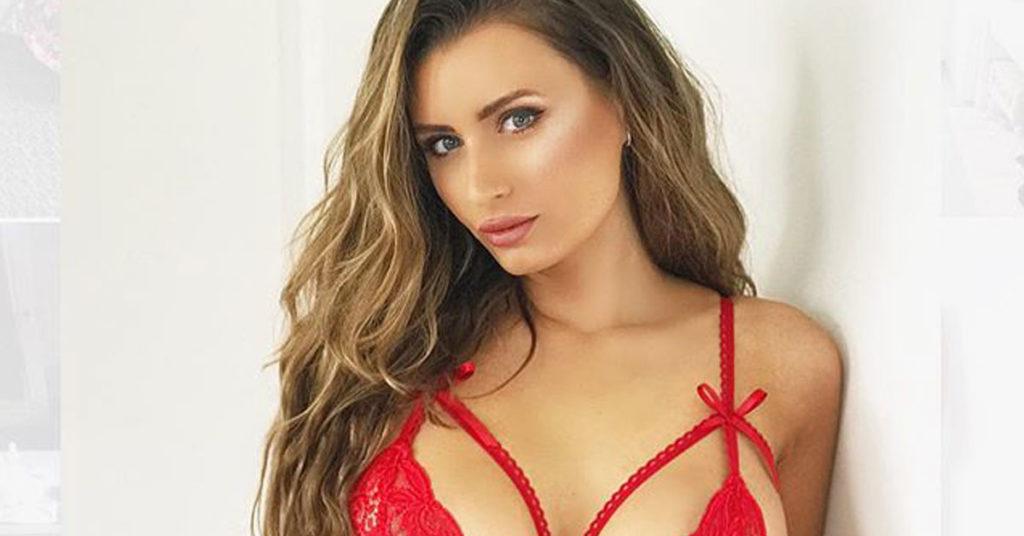 sammy braddy red lingerie